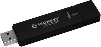 Kingston D300S USB-Stick 32GB Anthrazit IKD300S/32GB USB 3.1