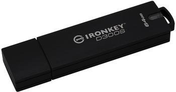 Kingston D300S USB-Stick 64GB Anthrazit IKD300S/64GB USB 3.1
