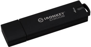 Kingston D300S USB-Stick 4GB Anthrazit IKD300S/4GB USB 3.1