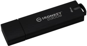 Kingston D300S USB-Stick 8GB Anthrazit IKD300S/8GB USB 3.1