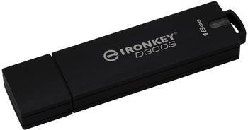 Kingston D300S USB-Stick 16GB Anthrazit IKD300S/16GB USB 3.1