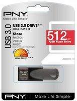 PNY Attaché 4 3.0 (3.1 Gen 1) USB-Anschluss Typ A Grau