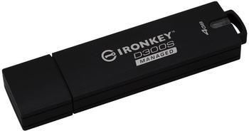 Kingston 4GB D300SM AES 256 XTS Encrypted USB Drive USB-Stick 4 GB 4 (IKD300SM/4GB)