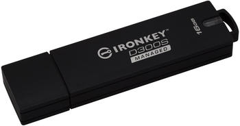 Kingston 64GB D300SM AES 256 XTS Encrypted USB Drive USB-Stick 64 GB (IKD300SM/64GB)