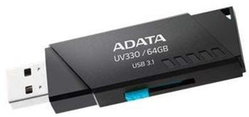 A-Data ADATA UV330 64 GB USB (3.1 Gen 1) Schwarz