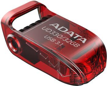 A-Data ADATA UD330 32 GB, USB-Stick Rot USB 3.1 Gen1