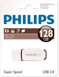 Philips USB-Stick 128GB 3.0 USB Drive Vivid super fast brown (FM12FD00B/00)
