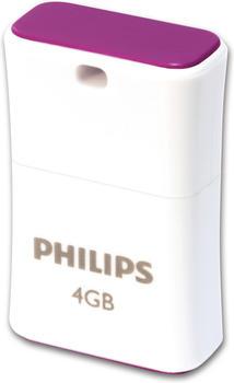 Philips FM08FD85B Pico Edition 2.0 USB-Flash-Laufwerk - 8GB Green, Farbe:Grün