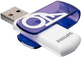 Philips USB Flash Drive USB-Stick 16GB Blau FM16FD00B/00 3.0