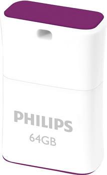 Philips PICO USB-Stick 64GB Purple FM64FD85B/00 USB 2.0