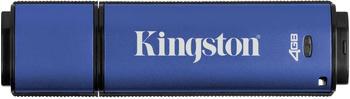 Kingston DataTraveler Vault Privacy Anti-Virus 4GB blau USB 3.0