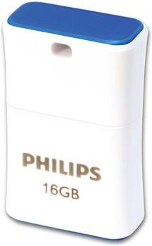 Philips 2.0 USB Typ-A Blau, Weiß
