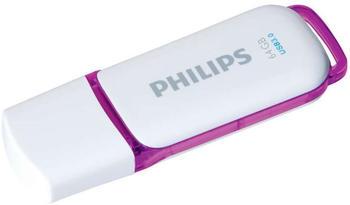 Philips Snow Edition 128GB weiß/braun USB 3.0