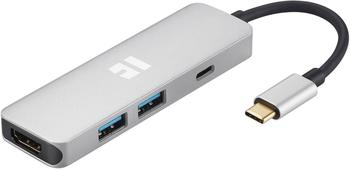 trekstor-igear-portplus-basic-4in1-type-c-mobile-dockingstation-2x-type-chdmi2x-usb30-silver
