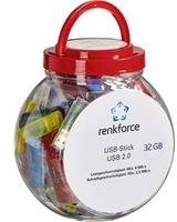 Renkforce Box USB-Stick Glas RF-3863432
