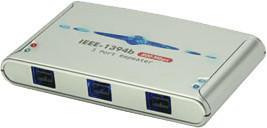 Lindy 3 Port FireWire 800 Hub (32911)