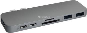 Hyper 7 Port 3.0 USB-C Hub (GN28B-GRAY)