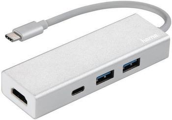 Hama 3 Port USB-C 3.1 Hub (135756)