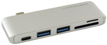 LC Power 3 Port USB-C Multi-Hub (LC-HUB-C-MULTI-2S)