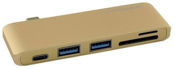 LC Power 3 Port USB-C Multi-Hub (LC-HUB-C-MULTI-2G)