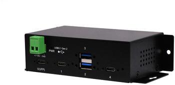 Exsys 4 Port USB 3.1 Hub (EX-1274HMV)
