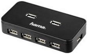 Hama 7 Port USB 2.0 Hub (00039859)