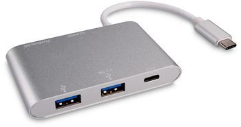kwmobile 2 Port USB 3.0 Typ-C Hub (42796)