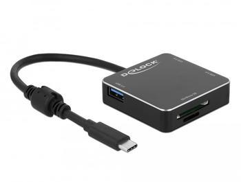 DeLock 3-Port USB 3.0 Hub + Kartenleser (64042)