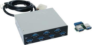 Exsys 7 Port USB 3.0 Frontpanel (EX-1167)