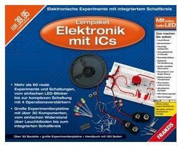 Franzis Lernpaket Elektronik mit ICS (DE) (Win)
