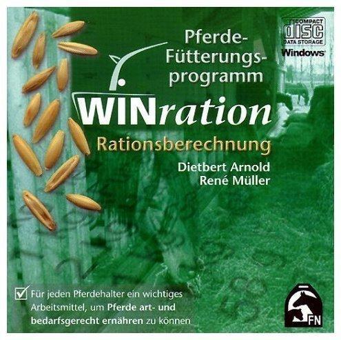 WINration. Pferde-Fütterungsprogramm. Version 2.0. CD-ROM für Windows 95/98/Me/NT42000