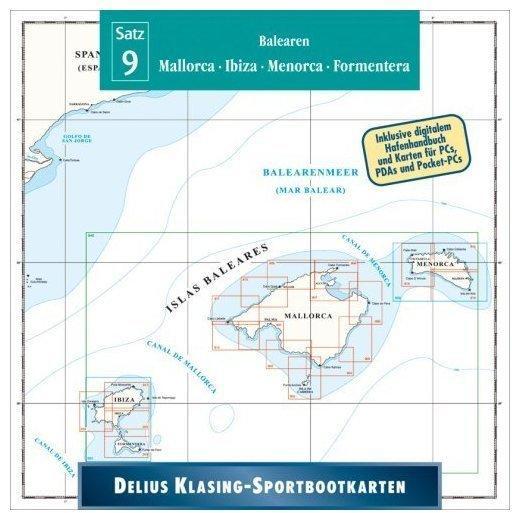 Delius Klasing Sportbootkarten 09 - Balearen 2010/2011