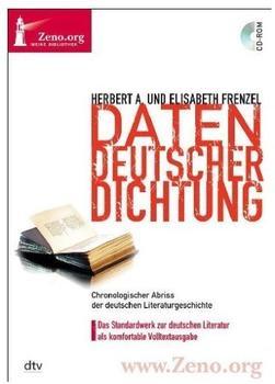 Directmedia Zeno.org 037 Daten Deutscher Dichtung (DE) (Win)