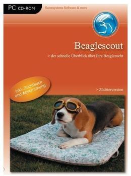 Beaglescout Züchterversion, CD-ROM Der schnelle Überblick über Ihre Beaglezucht. Für Windows 98/Me/2000/XP oder Linux