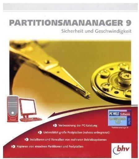 bhv PartitionsManager 9.0 (DE) (Win)
