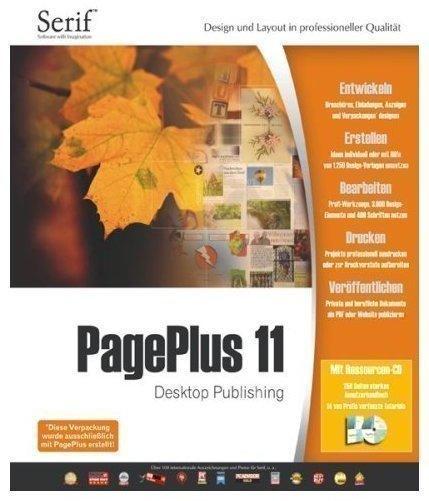 Serif PagePlus 11 DE Win