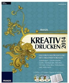 Franzis Kreativ drucken 2014 (DE) (Win)