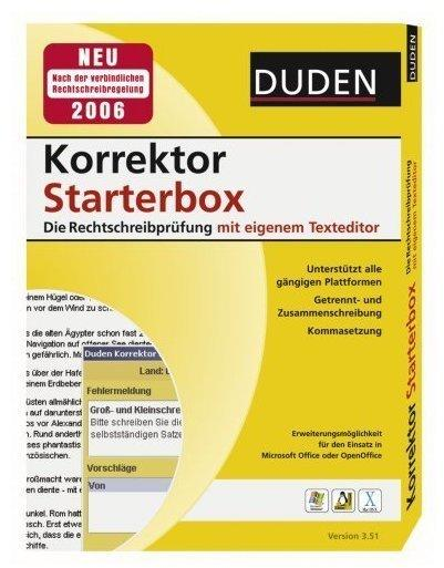 Duden Korrektor Starterbox