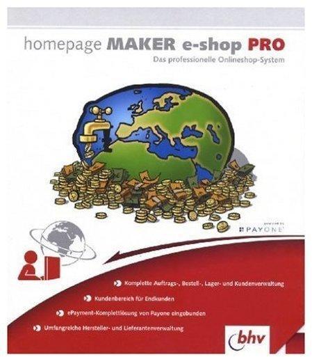 bhv Homepage Maker e-shop Pro (DE) (Win)