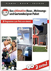 bhv Haus, Garten, Wohnungs Designer Pack (Win) (DE)