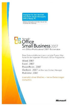 Microsoft Office 2007 Small Business Edition V2 (DE) (Win) (MLK)