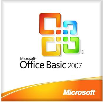 Microsoft Office 2007 Basic V2 (EN) (OEM) (MLK)