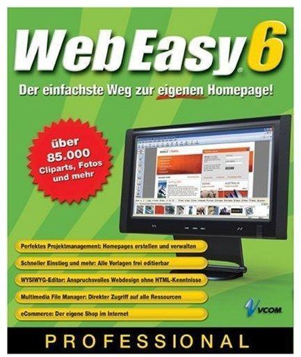 Avanquest VCOM Web Easy 6 Professional (DE)
