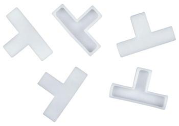 Connex Fliesen-T-Stücke 4 mm 250 Stück