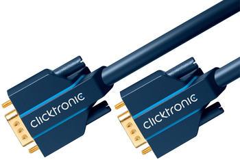 Clicktronic 70352 Casual VGA Verbindungskabel (3,0m)