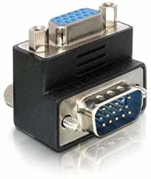 Delock DeLock Adapter VGA Stecker/Buchse 90°gewinkelt (65171)