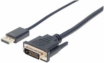 Manhattan DisplayPort 1.2a auf DVI-Kabel (152136)