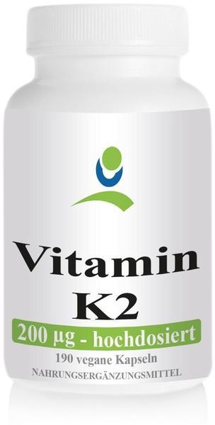 NordHit Vitamin K2 MK7 200 µg Kapseln (120 Stk.)