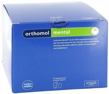 Orthomol Mental GranulatKapseln 30 St.
