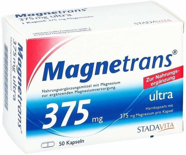 STADA Magnetrans ultra 375 mg Kapseln